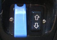 Wyciągarka elektryczna 4x4 - włącznik główny i sterowanie z kabiny