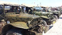 Oldtimery militarne w Darłowie - 2x3 4x4 6x6 8x8 - galeria