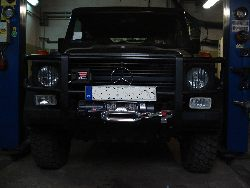 Mercedes G - tuning off-road
