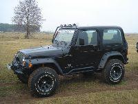 Jeep Wrangler TJ - Moje auto