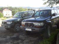 Miałem sobie terenówkę-cz.2: czyli Toyota Land Cruiser HDJ80 vs HDJ100