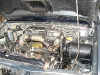 Nissan D22 zmiana silnika 2.5 DI na 2.7 TD Terrano