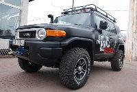 Toyota FJ Cruiser - tuning off road. Budujemy samochód wyprawowy